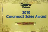 Ceramco3 Sales Award 2010
